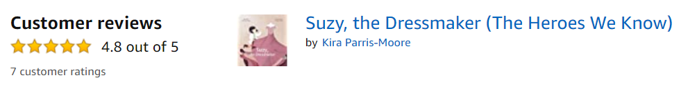 Suzy, the Dressmaker - Books2inspire