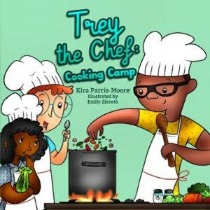 Trey the Chef Cooking Camp book cover
